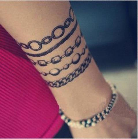 Bransoletka Tatuaż Pomysły I Wzory Tatuaży Dla Kobiet
