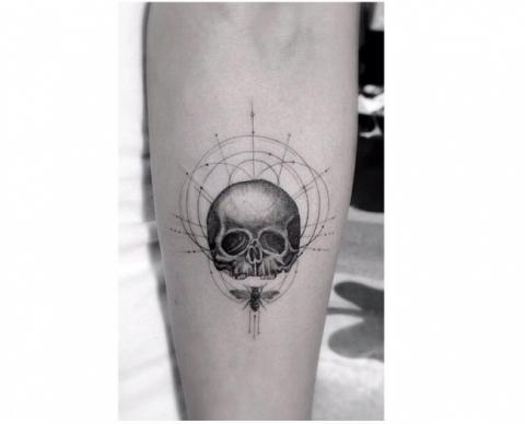 Czaszka Wzory Pomysły I Wzory Tatuaży Dla Kobiet Mężczyzn Human