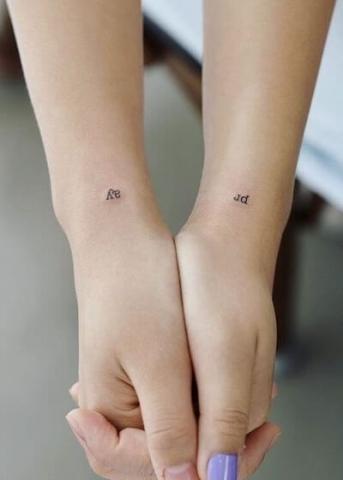 Dla dwóch tatuaże