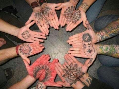 Dłonie Pomysły I Wzory Tatuaży Dla Kobiet Mężczyzn Human
