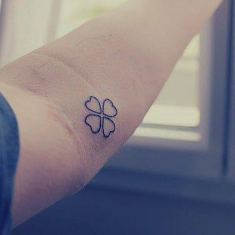 Tatuaże Koniczyna Clover Tattoo Wzory Tatuaży