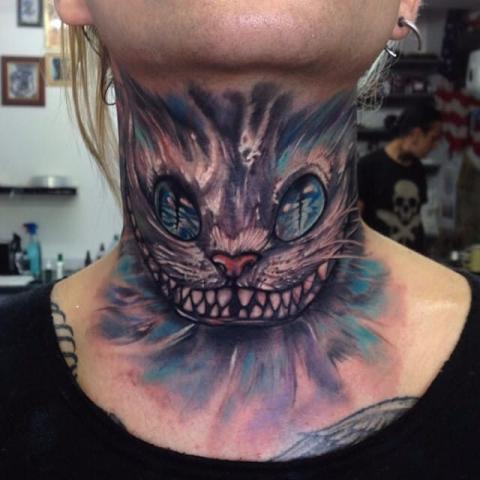 Kot Szyja Tatuaż Pomysły I Wzory Tatuaży Dla Kobiet Mężczyzn
