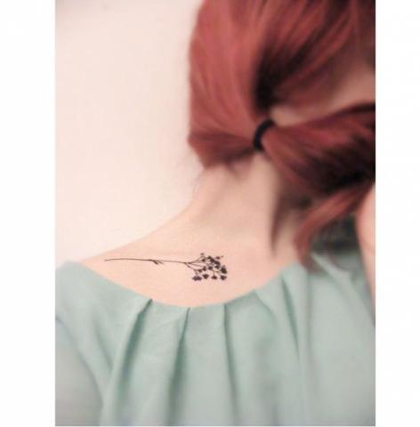 Mały Tatuaż Inspirowany Naturą Pomysły I Wzory Tatuaży Dla