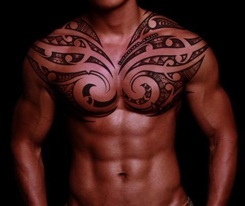 Męskie Tatuaże Klatka Pomysły I Wzory Tatuaży Dla Kobiet Mężczyzn