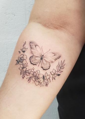 Motyl dziara