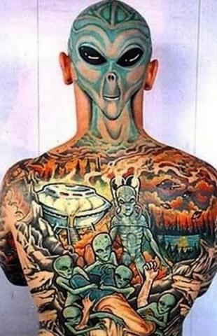 Obcy Pomysły I Wzory Tatuaży Dla Kobiet Mężczyzn Human