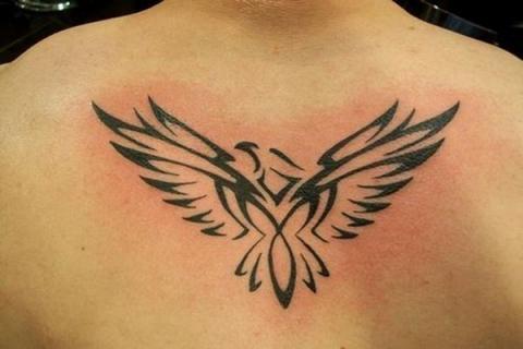 Orzeł Tatuaże Tribal Pomysły I Wzory Tatuaży Dla Kobiet