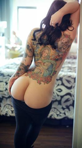 religijny tatuaż