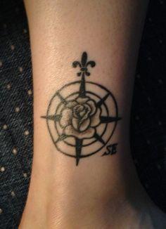 Róża Wiatrów Tatuaż Nadgarstek Pomysły I Wzory Tatuaży Dla