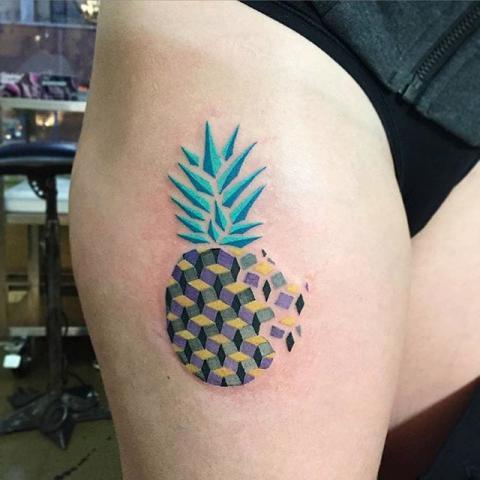 Tatuaże Owoce Fruit Tattoo Wzory Tatuaży Największa Galeria