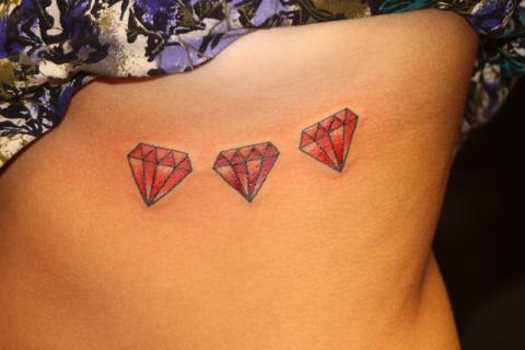 Tatuaż Diament Pomysły I Wzory Tatuaży Dla Kobiet Mężczyzn Human