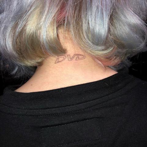 Tatuaż DVD