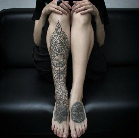 Tatuaż Etniczny Wzory I Znaczenie Pomysły I Wzory Tatuaży Dla
