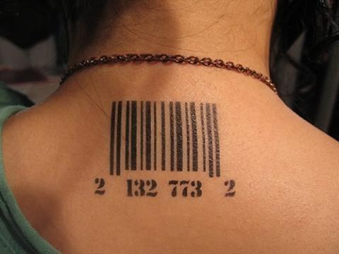 Tatuaż Kod Kreskowy Pomysły I Wzory Tatuaży Dla Kobiet