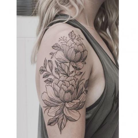 Tatuaż Kwiaty Wzory Pomysły I Wzory Tatuaży Dla Kobiet