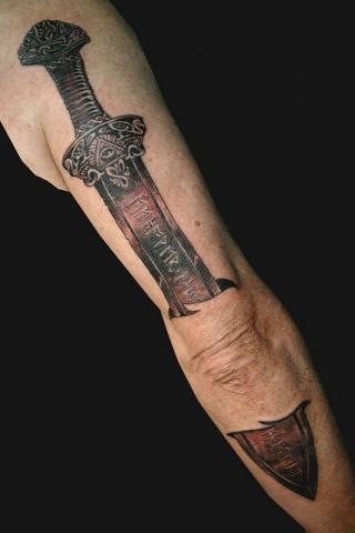 Tatuaż Miecz Pomysły I Wzory Tatuaży Dla Kobiet Mężczyzn