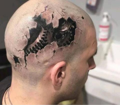 Tatuaże 3d 3d Tattoo Wzory Tatuaży Największa Galeria