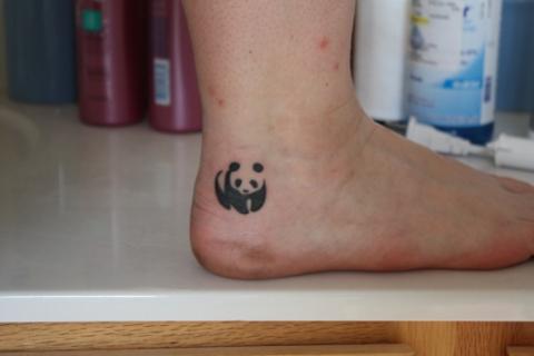 Tatuaże Panda Panda Tattoo Wzory Tatuaży Największa