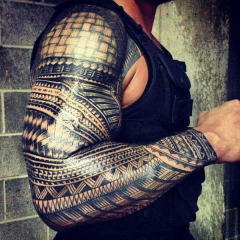 Tatuaż Samoański Rękaw Pomysły I Wzory Tatuaży Dla Kobiet