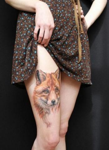 Tatuaż Udo Wilk Pomysły I Wzory Tatuaży Dla Kobiet