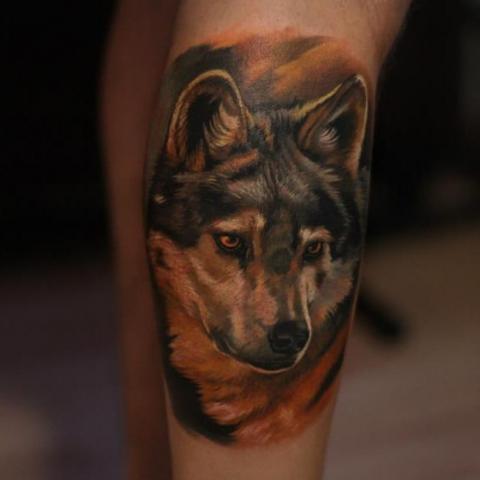 Tatuaże Wilk Wolf Tattoo Wzory Tatuaży Największa Galeria