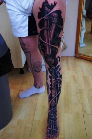 Tatuaże Biomechanika Biomechanical Tattoo Wzory Tatuaży