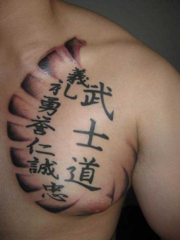 Tatuaże Chińskie Znaki Pomysły I Wzory Tatuaży Dla Kobiet