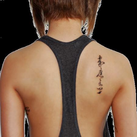 Tatuaże Damskie Na Plecach Pomysły I Wzory Tatuaży Dla