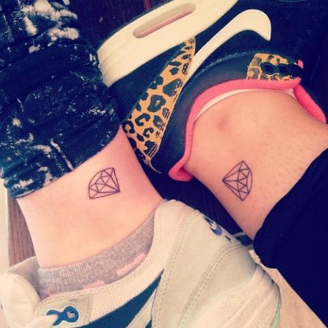 Tatuaże Diament Pomysły I Wzory Tatuaży Dla Kobiet Mężczyzn Human