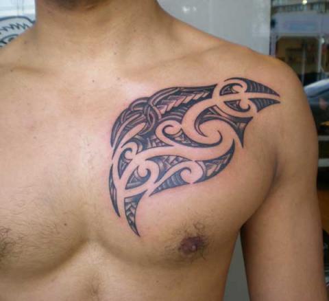 Tatuaże Męskie Na Klatce Piersiowej Pomysły I Wzory Tatuaży Dla
