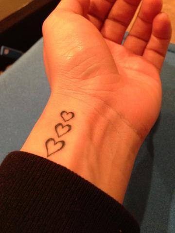 Tatuaże Na Nadgarstku Serce Pomysły I Wzory Tatuaży Dla