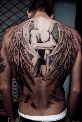Tatuaże Skrzydła Anioła Na Plecach Pomysły I Wzory Tatuaży Dla