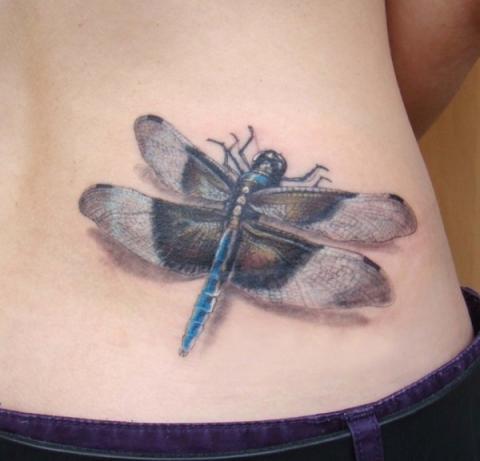 Tatuaże Ważka Pomysły I Wzory Tatuaży Dla Kobiet Mężczyzn