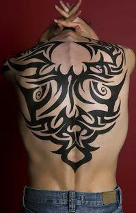 Tatuaże Wzory Tribal Na Plecy Pomysły I Wzory Tatuaży Dla
