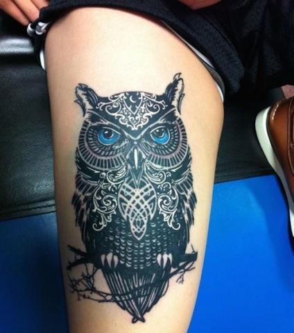 Udo Sowa Tatuaż Pomysły I Wzory Tatuaży Dla Kobiet