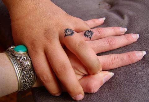 Wzory tatuaży dla par