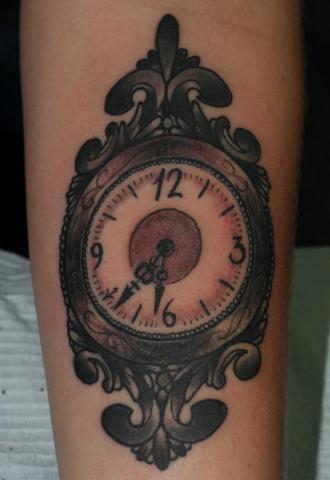 Zegar 3d Tatuaż Pomysły I Wzory Tatuaży Dla Kobiet
