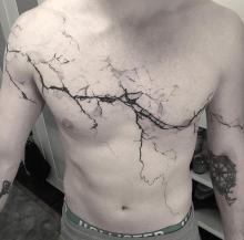 Pęknięcia tatuaż