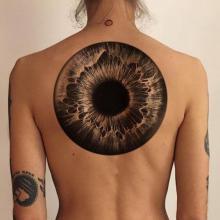 Tatuaż trzecie oko