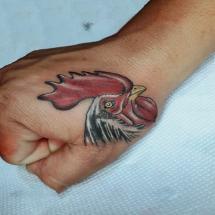 Kogut tatuaż