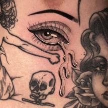 Tatuaż łzy