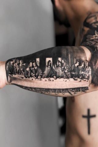 apostołowie tatuaże