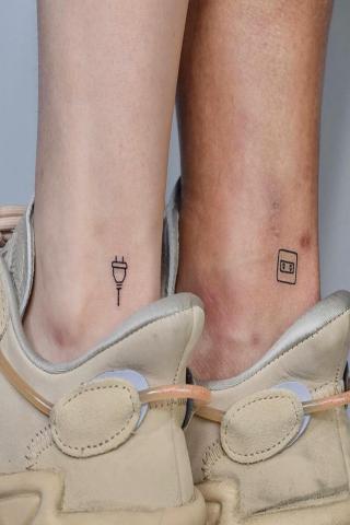 Dla dwóch tatuaż