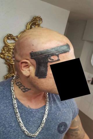 Gangsterski tatuaż