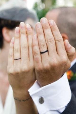 Obrączki tatuaż dla par