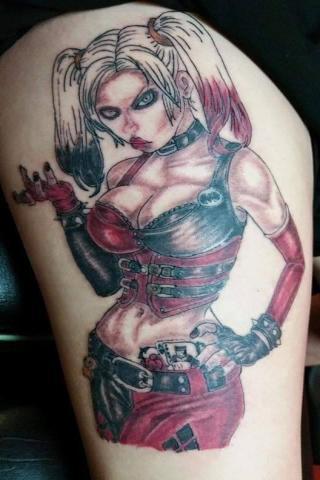 Ostra babka tatuaż