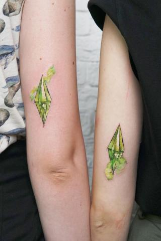 Sparowane tatuaże