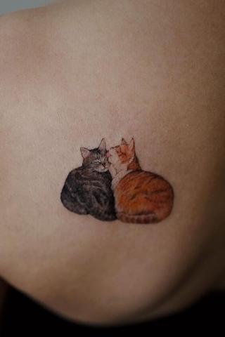 Tatuaż kotki