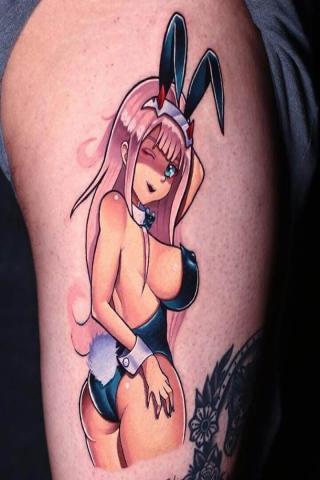 Tatuaż króliczek Playboy
