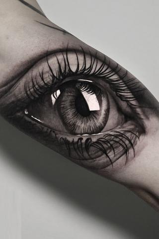 Tatuaż oko
